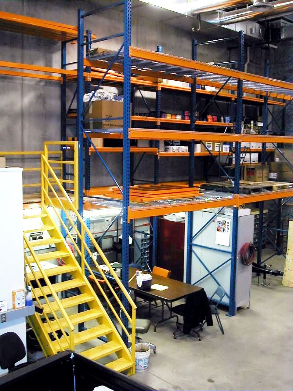 Rack Supported Mezzanine (2)