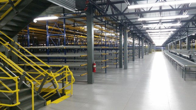 Rack and Mezzanine Supported