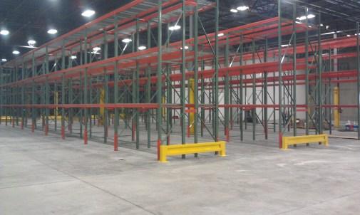 Row End Rack Guarding