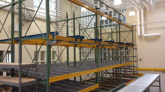 Safety Netting At Training Warehouse