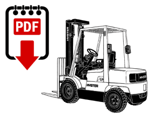 Hyster S30E (D002) Forklift Repair Manual   Download PDF