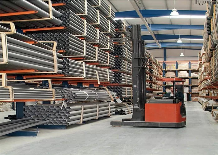 optional dimension cantilever pipe rack