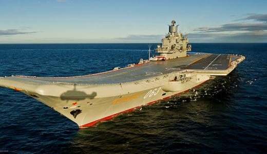 Admiral Kuznetsov aircraft carrier 2012 Ministry of Defence of the Russian Federation Mil.ru 2012