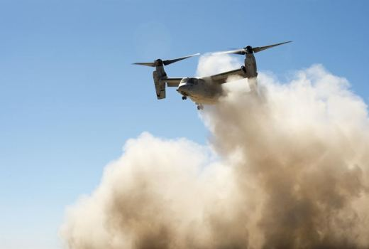 US Army Special Forces, MV-22 Osprey, by Joshua J Garcia