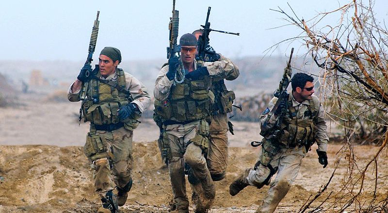 US Navy SEALs, Remote Training Facility, by Eric S Logsdon, Naval Special Warfare Command Public Affairs Office 2004