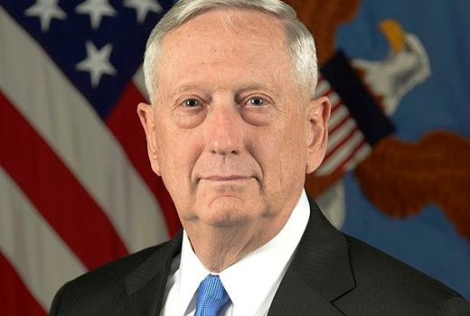 US DOD, Secretary of Defense James Mattis, 25 Jan 2017, by Monica King (US DOD)