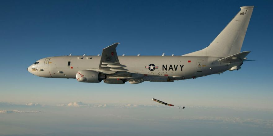 Poseidon P-8A Maritime Patrol Aircraft (or Multimission Maritime Aircraft)