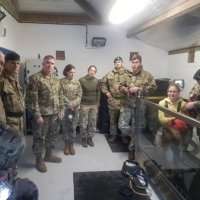US Army Vets Visit UK's Defence Animal Centre