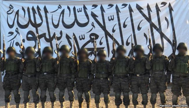 Taliban suicide bombers in 21 April 2017 Mazar-i-Sharif ANA base attack, released by the Taliban