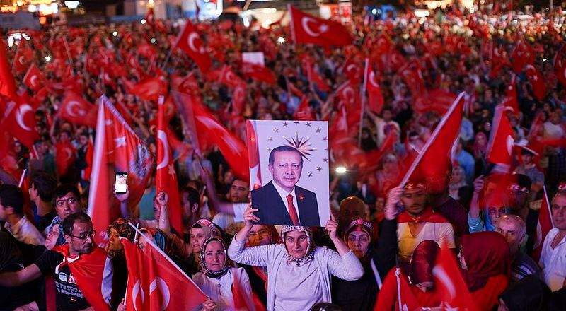 Turkey, Pro-Erdogan Demonstration in Istanbul, Turkey, 22 July 2016, following the 2016 Coup (Mstyslav Chernov, 2016)