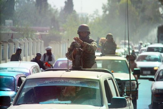 Afghan National Army in Khwost City, Afghanistan, 25 May 2015, by Sgt Justin A Moeller (DVIDS)