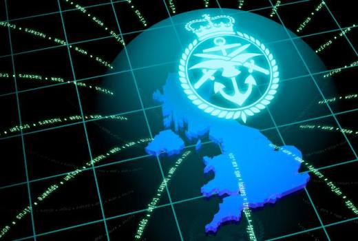 MOD cyber graphic (Crown Copyright, 2013)