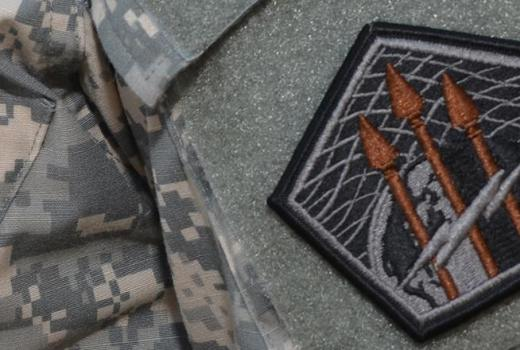 US Army Cyber Command patch (subdued) (2013)