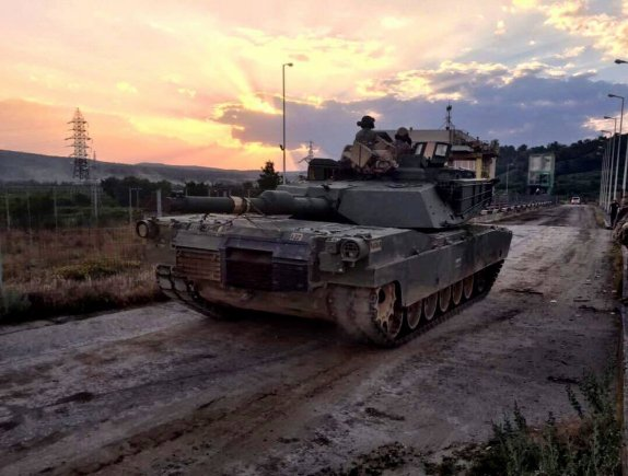 Iron Brigade tanks roll into Romania for Getica Saber