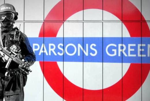 Islamic Terrorist Attack, Parsons Green London Underground Bombing 15 September 2017