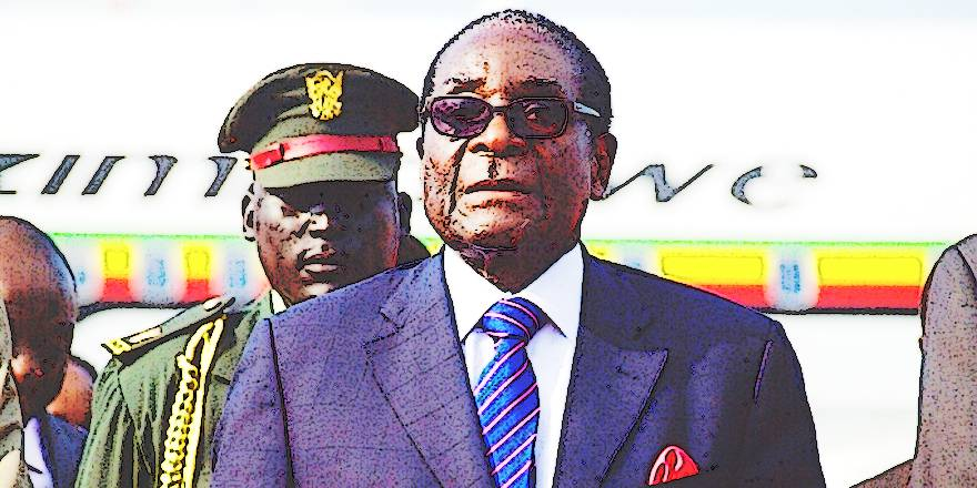 Military take-over in Zimbabwe, President Robert Mugabe in army custody