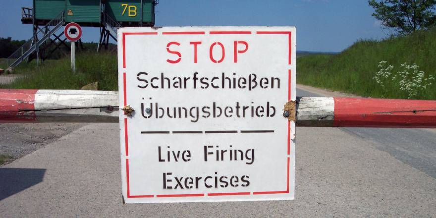 British Army, British Forces Germany, Bergen-Hohne Training Area (Heidekreis, CC3, 2012)