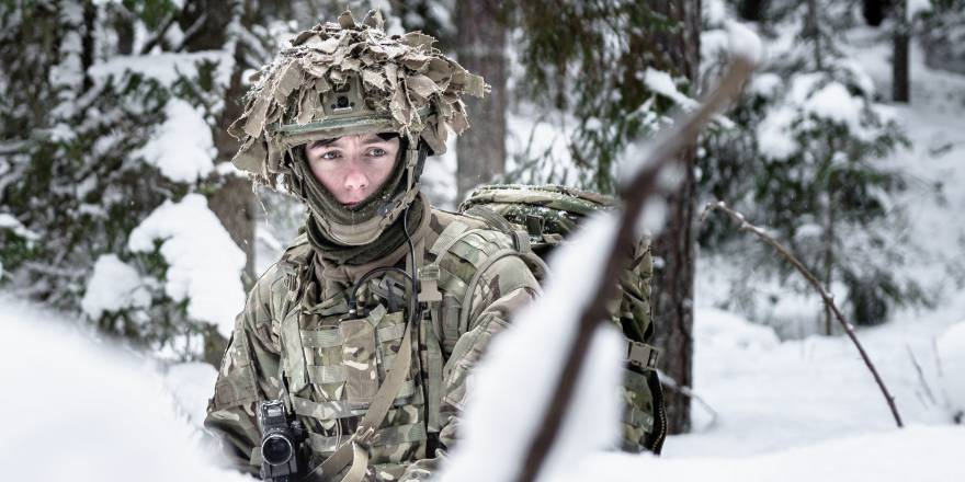 Royal Welsh on Exercise in Estonia