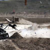 Focus on Robotics for Army Warfighting Experiment