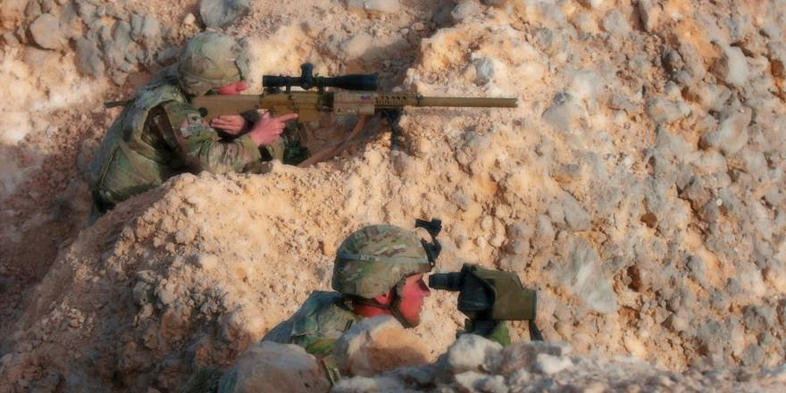 US Army snipers 1st Battalion, 6th Infantry Regiment, 2nd Armored Brigade Combat Team, 1st Armored Division, Ex Inferno Creek 2018, Oman (US Army, 2018)