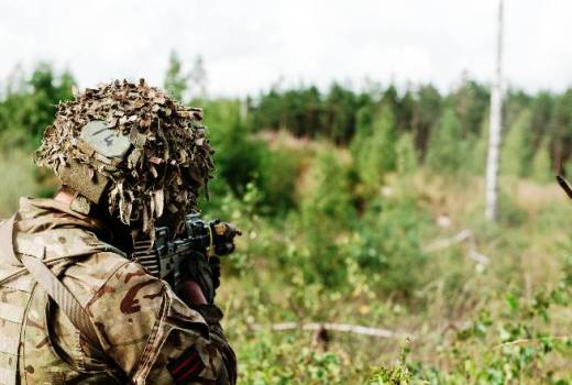 British Army, 5 RIFLES, D Company, Op CABRIT Estonia as part of NATO eFP (Enhanced Forward Presence) (Crown Copyright, 2017) [880]
