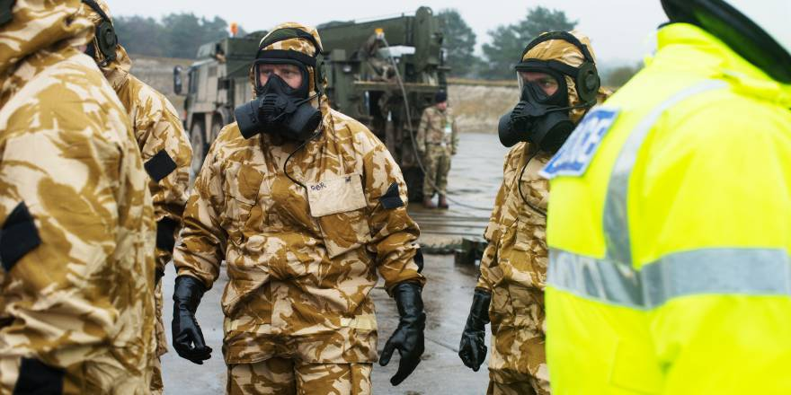 British Army Royal Tank Regiment falcon Squadron deploy to Salisbury after poisoning of Skirpal (Crown Copyright, 2018)