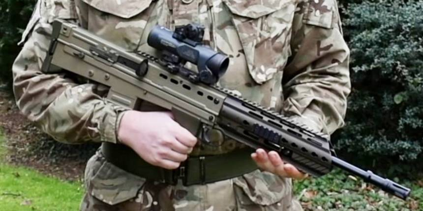 British Army, Grenadier Guards testing SA80A3 Heckler and Koch upgrade (Crown Copyright, 2018)