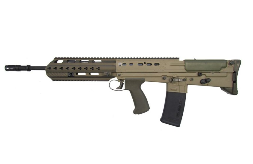 British Army SA80 A2 Assault Rifle Upgraded to A3 by Heckler and Koch (Crown Copyright, 2018)