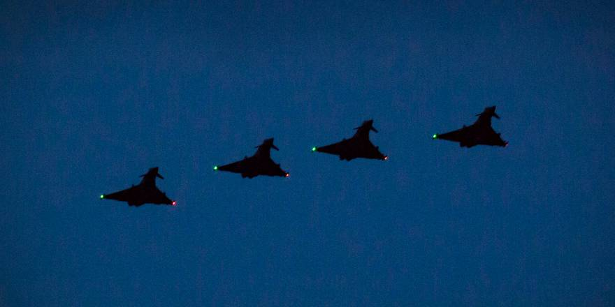 Op BILOXI: RAF Typhoons Return to Romania