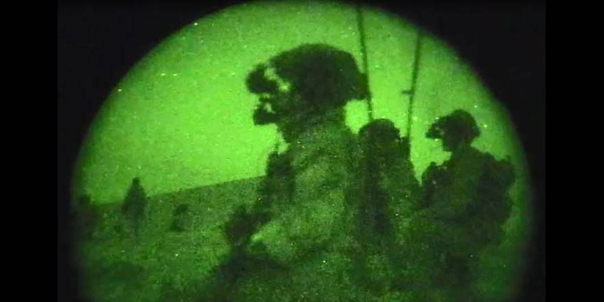 US Special Operations Forces fighting ISIS-K in Jowzjan, Afghanistan, 2018 (US Gov)