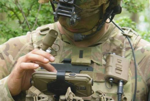 US Army 173rd Airborne Brigade Combat Team, 503rd Infantry Regiment, test Integrated Tactical Network, Grafenwoeher, Germany (US Army, 2018)