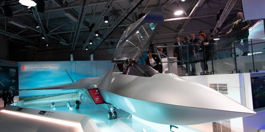 RAF Tempest Concept Fighter Jet unveiled for new Combat Air Strategy (Crown Copyright, 2018)