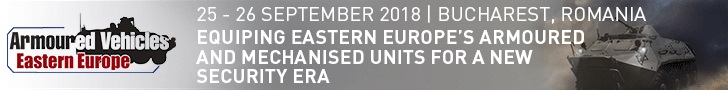 Defence IQ Armoured Vehicles Eastern Europe 25-26 Sept 2018 Bucharest