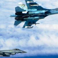 RAF Typhoons Stop Chasing Russians
