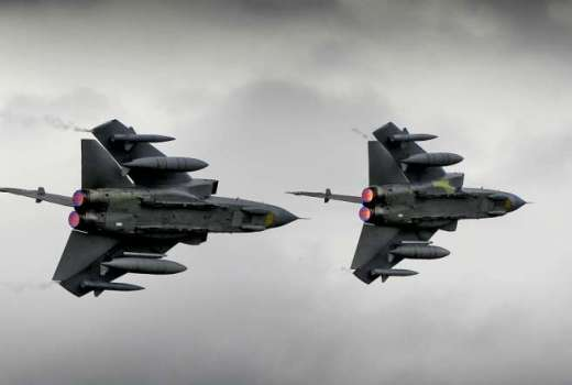 RAF Tornados, Iraq, Op SHADER (Crown Copyright, 2012) [880]