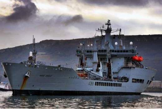 RFA Wave Knight (A389), Royal Fleet Auxiliary, supported by new billion defence deal (Crown Copyright, 2008) [880]