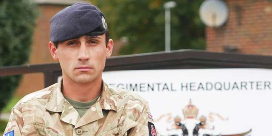Queen's Dragoon Guards Trooper Recognised for Gallantry