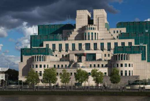 MI6 Secret Intelligence Service (SIS) Building, London