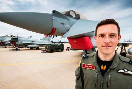 RAF 1(Fighter) Squadron, Wing Commander Chris Hoyle (Crown Copyright, 2018) [880]