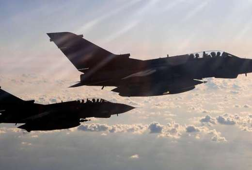 RAF Tornados Operation SHADER (Crown Copyright, 2011)