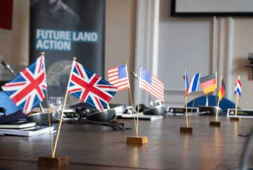 British Army Future Land Action Seminar, Sandhurst (Crown Copyright, 2019)