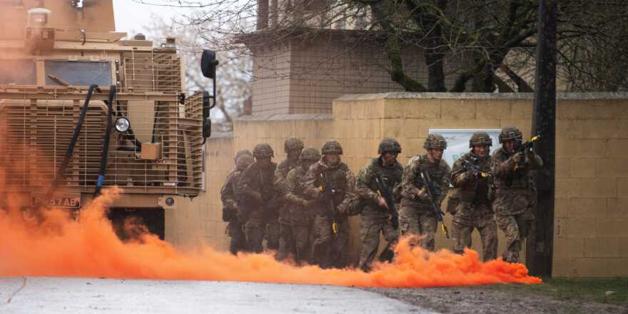 British Army Royal Regiment of Scotland 4th Battalion 4SCOTS UK Centre of Excellence for Human Security annoincement (Crown Copyright, 2019) [news][880]