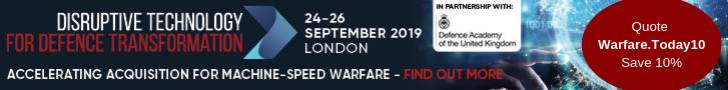 Disruptive Technology for Defence Transformation, London, 24-26 September 2019