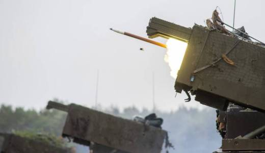 British Army Royal Artillery 26 Regiment on Exercise Congreve Spear with MLRS (Crown 2019) via BA website [880]