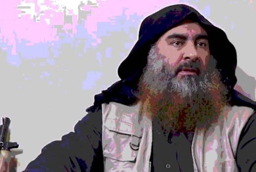 ISIS Leader Abu Bakr Al-Baghdadi Killed in US Special Ops Raid (screen shot from 2014)[880]