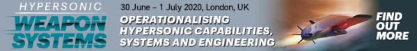 Hypersonic Weapon Systems, 30 June - 1 July 2020, London
