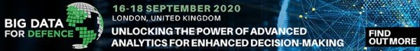 Big Data for Defence, London, 16-18 September 2020
