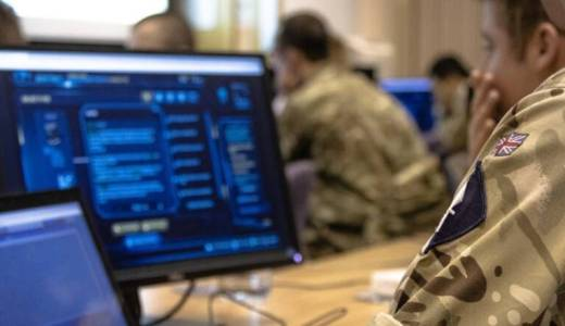British Army 13th Signal Regiment Cyber Warfare, Ex Mercury Cypher (Crown Copyright, 2020)