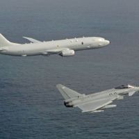 First Operation for RAF Poseidon tracking Russian Warship