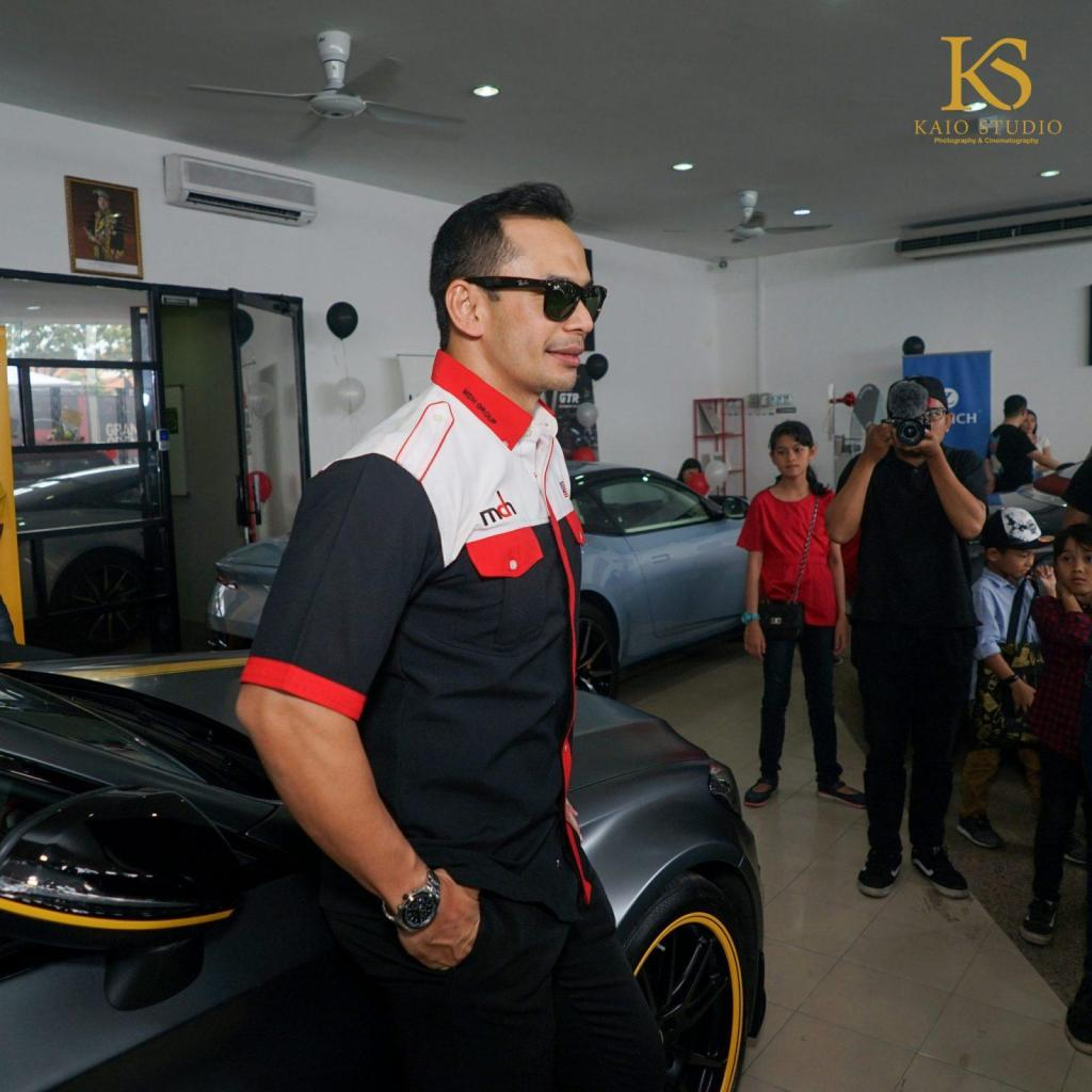 The Official Launch Of DTC Motors Fest Celebrated by Celebrities Namely Zizan Razak and Norman Hakim
